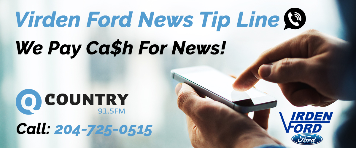 VIRDEN FORD NEWS TIP LINE